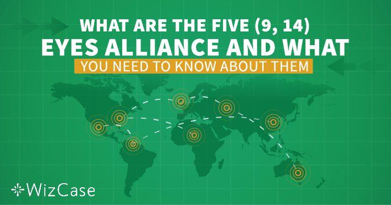Razumijevanje saveza Pet, Devet i 14 Očiju prije kupnje bilo kojeg VPN-a!