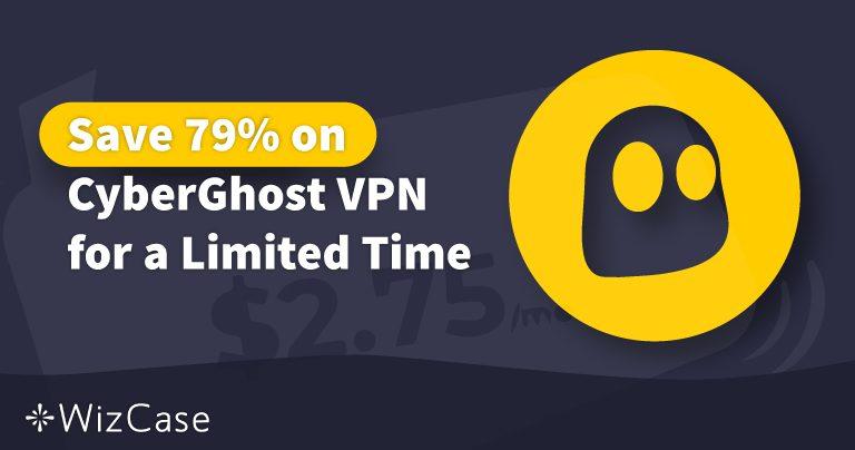Važeći CyberGhost VPN kupon za 2020. godinu: Uštedite do 79% danas Wizcase